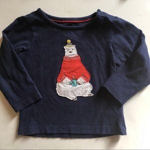 Mini Boden Polar Bear Shirt